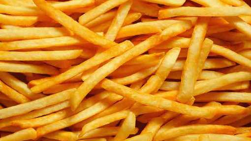 Detail papas fritas